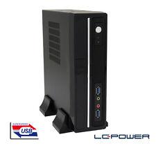 LC-Power - Mini-ITX-Gehäuse LC-1350mi mit 75W-Netzteil und 2x USB 3.0
