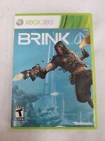 Brink (Microsoft Xbox 360, 2011) Free Fast Shipping