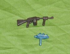 vintage Zee Toys METAL MAN WEAPONS LOT x2 gun phaser