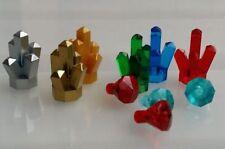 LEGO Rocks Crystals Jewels Gem Treasure for minifigure