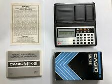 Vintage, Casio Ml-88 Melody Electronic Calculator and Clock, New Old Stock