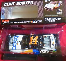 CLINT BOWYER, NEW, 1/24 ACTION  2019 MUSTANG, #14, TOCO WARRANTY,
