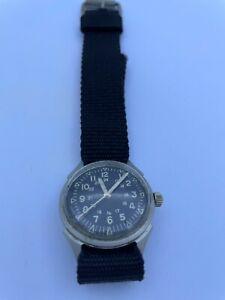 Vintage Benrus Military Vietnam style Wrist Watch.