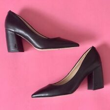 Sam Edelman Tatiana Black leather heels size 10 new