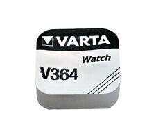 Varta 364 17mAh 1.55V Electronic Silver Oxide Coin Cell Battery (V364)