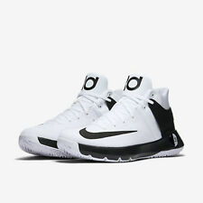 New NIKE KD TREY 5 IV TB Men's Basketball Shoes 844590 100 White Black sz 11