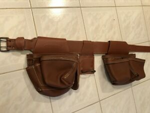 """McGuire-Nicholas New Leather Tool Rig Belt Tool Pouch Holster 48"""" L x 3"""" W"""