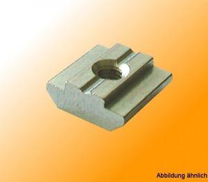 Nutensteine Nutsteine für T-Nut Aluprofile B-Typ Nut 8 Bosch-komp. Sonderversand