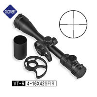 DISCOVERY VT-R 4-16X42SFIR Large Side Wheel Hunting Rifle Scope for Air Gun