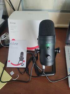 Fifine USB Studio Recording Microphone Computer Podcast,Mac,PC,gaming mod. K690.