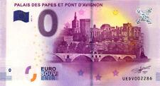 84 AVIGNON Palais des Papes 2, 2017, Billet 0 € Souvenir