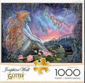 Josephine Wall 1000Pc Glitter Edition Jigsaw Puzzle  Mermaid Pool NIB