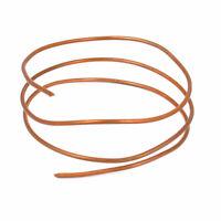 2.5mm Dia 90cm Length Copper Tone Refrigerator Refrigeration Tube Tubing Coil