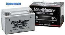 BikeMaster AGM Platimum II Sealed Motorcycle ATV Battery Batteries MS12-14L-BS