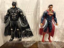 "Batman and Superman 6"" Action Figures DC Multiverse Justice League Loose"