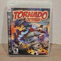 Tornado Outbreak PS3 Sony Playstation New Factory Sealed RARE Review Copy Konami