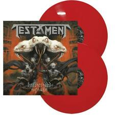 TESTAMENT ‎– Brotherhood Of The Snake – RED 2LP (LTD 300) – NEW & SEALED!