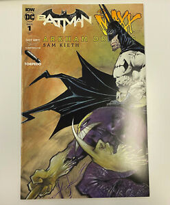 IDW: BATMAN / THE MAXX: ARKHAM DREAMS #1: NM COND: TORPEDO - SAM KEITH COVER