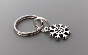 CHRISTMAS Dog Cat Collar Charm - Silver Snowflake