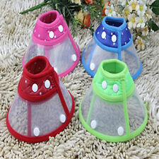 AC_ Puppy Pet Dog Cat Cone Neck Collar Anti-Bite Medical Recovery Protection Gli