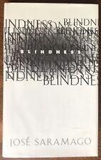 Jose Saramago Blindness SIGNED First Edition HCDJ Nobel Prize