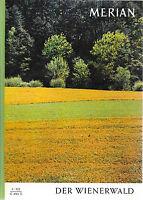 Merian Der Wienerwald September 1966/ Heft 9/ 19. Jahrgang Backhendeln Schwefel