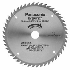 """Panasonic New Genuine OEM EY9PW17A Carbide Wood Cutting Blade 6-1/2"""" for EY3551"""