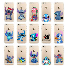 Transparent Stitch Pattern Clear Hard Back Case Cover For iPhone 5S 5C 6 6 Plus