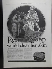1917 Resinol Soap For The Skin John Lagatta Illustration Advertisement