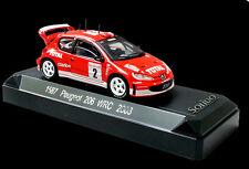 AUTO 1:43 SOLIDO PEUGEOT 206  WRC RALLYE MONTE CARLO 2003    1587