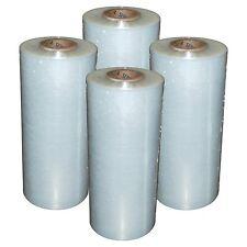 "(4) Rolls Hand Stretch Wrap Film Banding 18"" x 1500' 11.5 Micron USA MADE"