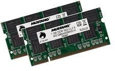 2x 1GB 2GB RAM Speicher HP Compaq nc8000 nx5000 nx6100