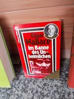 Im Banne des Unheimlichen, ein Kriminalroman von Edgar Wallace, aus dem Goldmann