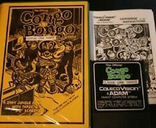 RARE Congo Bongo Game for Colecovision COLECO Cartrdge has Never played