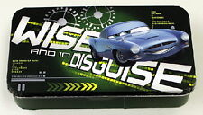 Walt Disney's Cars 2 Movie Wise In Disguise Tin Catch All Storage Box NEW UNUSED