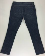 LRL Lauren Jeans Co. Women's Printed Modern Skinny Stretch Denim Jeans Size 12