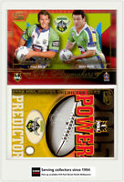 2005 Select NRL Power Predictor Card + Playmaker PM3 C. SCHIFCOFSKE/ L. WITHERS
