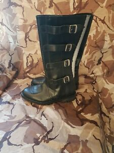 TROPHY POLICE MOTORCYCLE BOOTS ITSHIDE COMMANDO SOLE SIZE 7 NEW