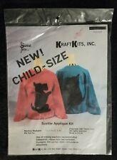 Vintage 1987 Sweat Pets Kraft Kits Scotty Dog T Shirt Applique Pattern 70105 NIP
