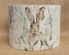 Voyage Maison JACK RABBIT fabric countryside hare linen drum lampshade 15 - 40cm