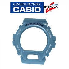 Casio G-Shock DW-6900 Light Blue Genuine Casio Factory Bezel Blue/White Letters