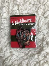 Mondo Exclusive Nightmare On Elm Street 3 Pin New Freddy Krueger Horror