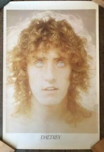 ROGER DALTREY 1973 MCA Promo 18.5x28.75 Poster Vintage NOT A REPRO The Who
