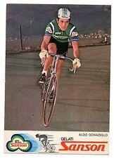 ALDO DONADELLO SQUADRA SANSON CICLISMO CYCLISME CYCLING BICICLETTA