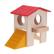 Rat House Wooden Hamster Ladder Pet Animal Rabbit Playhouse Pet Supplies new