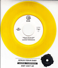 GEORGE THOROGOOD Howlin' For My Baby YELLOW VINYL 45 record + juke box strip NEW