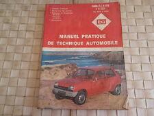REVUE TECHNIQUE RENAULT 5 L ET TL de 1972 à 1980