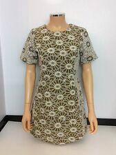 Topshop Summer Dress Uk Size 10, Flowers, Short Sleeve, Immaculate