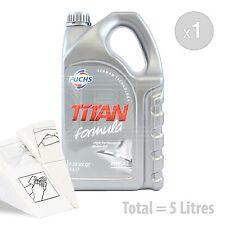 Car Engine Oil Service Kit / Pack 5 LITRES Fuchs TITAN FORMULA 15W-40 5L