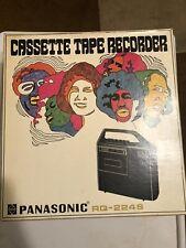 Panasonic RQ-224S Cassette Tape Recorder